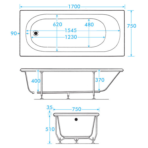 What are the dimensions of a standard bathtub 28 images for Alcove bathtub dimensions