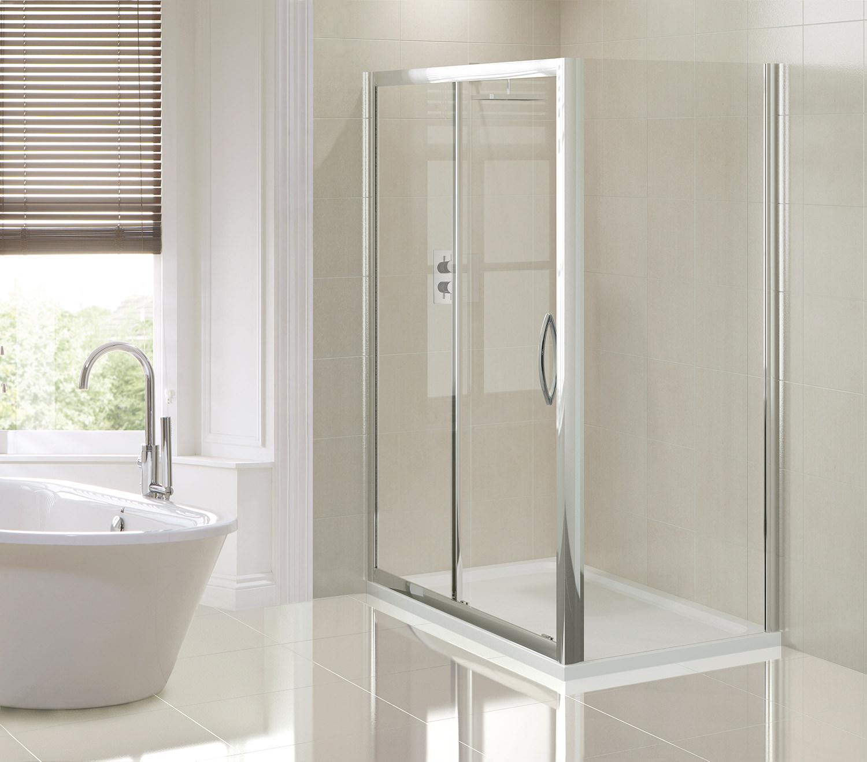 Aquadart Venturi 1000mm Sliding Shower Door