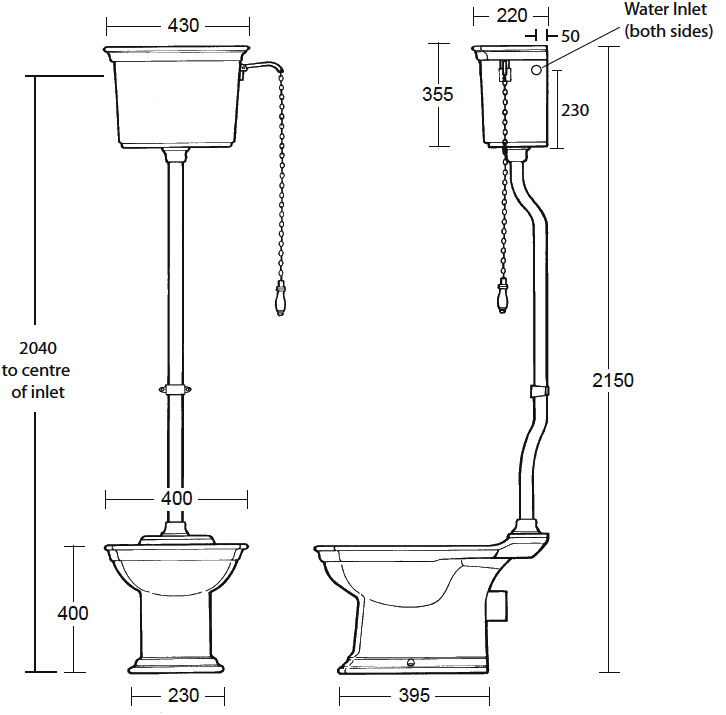 Standard Toilet Dimensions Imperial : info transform your bathroom with the imperial westminster toilet ...