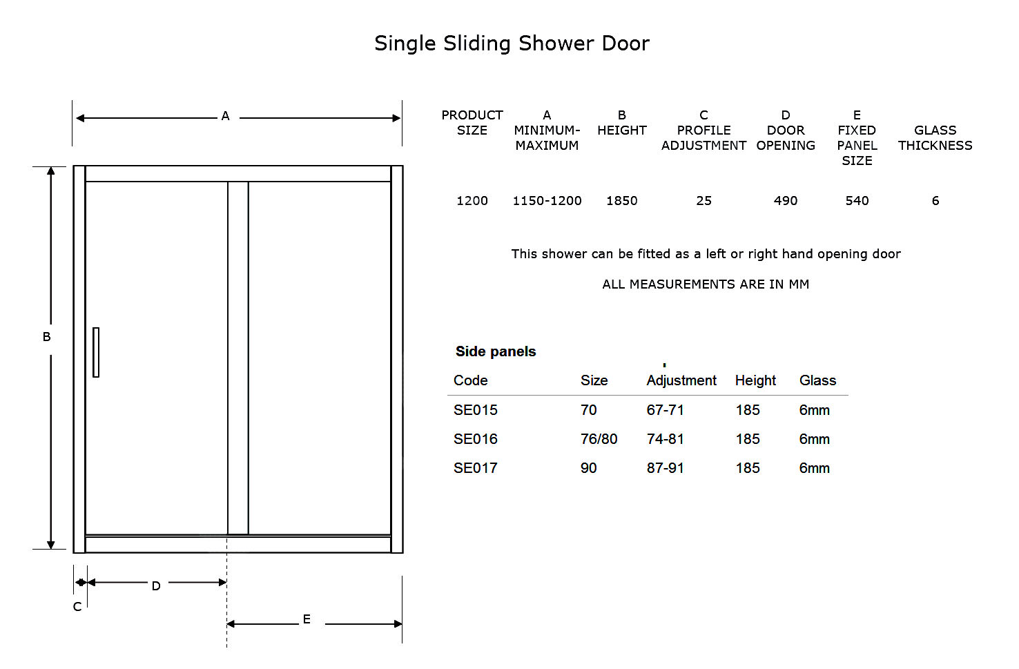 Standard sliding door width for French patio door sizes