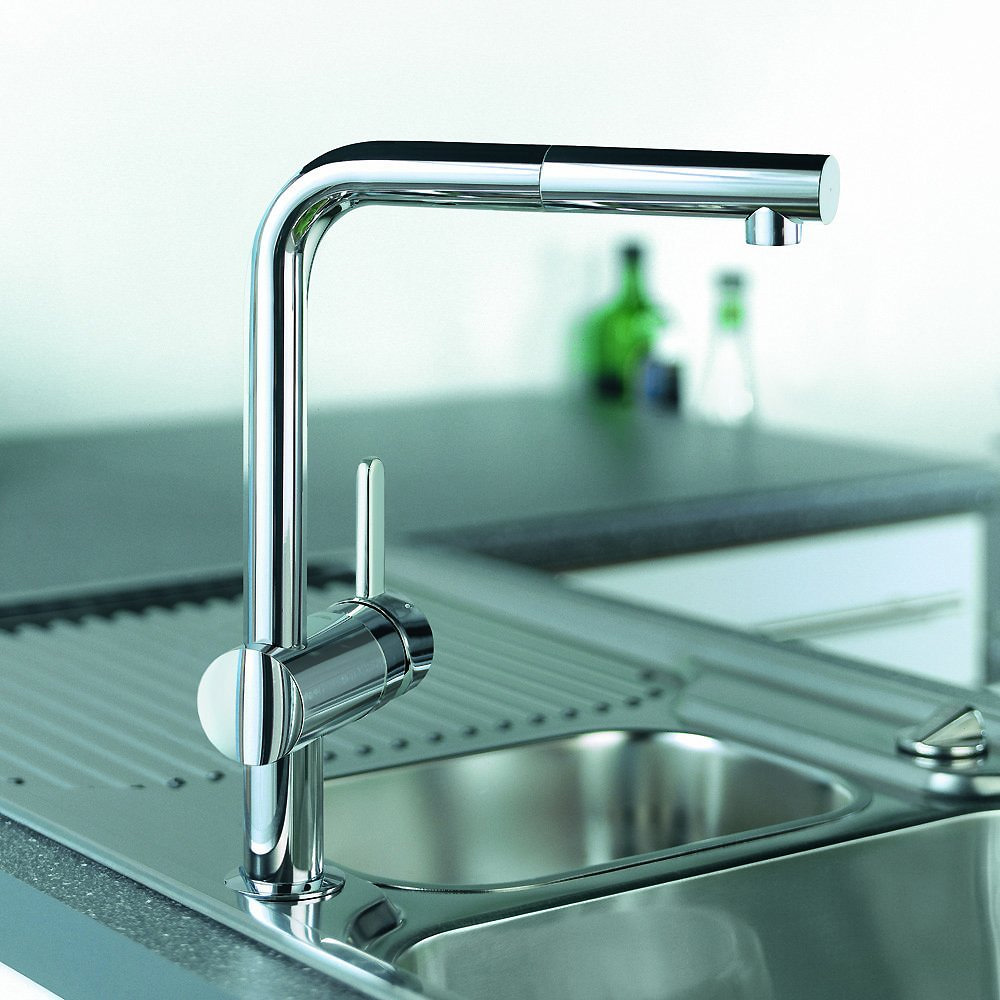 Grohe Minta Pull Out Spout Kitchen Tap