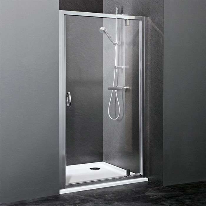Lauren Ella 800mm Pivot Shower Door