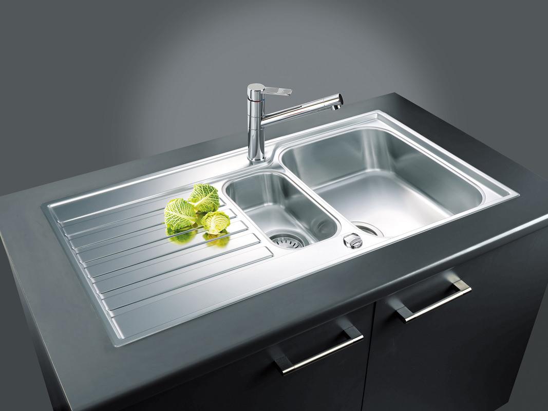 Franke Ascona ASX 651 Stainless Steel 1.5 Bowl Inset Sink