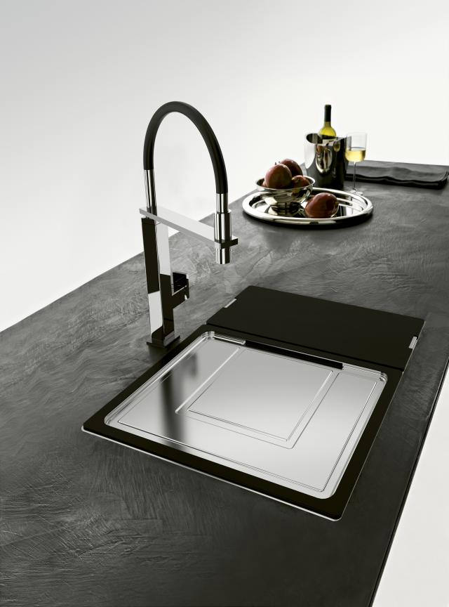 Flat Pack Stainless Steel Sinks : Franke Centinox CEX 210 Designer Pack-Stainless Steel Sink And Tap