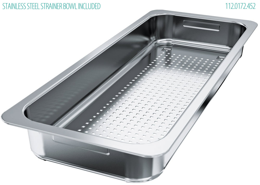 ... New Franke Centinox CEX 210 Stainless Steel Inset Sink And Accessories