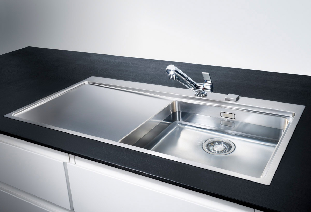 Franke Mythos Mmx 211 Dp Stainless Steel Left Drainer Sink