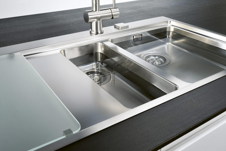 Franke Mythos MMX 251 Stainless Steel LHD 1.5 Bowl Inset Sink