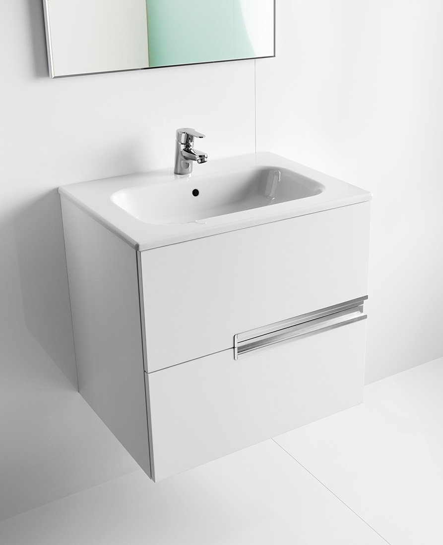 Roca victoria n unik basin and unit with 2 drawers 700mm for Roca victoria