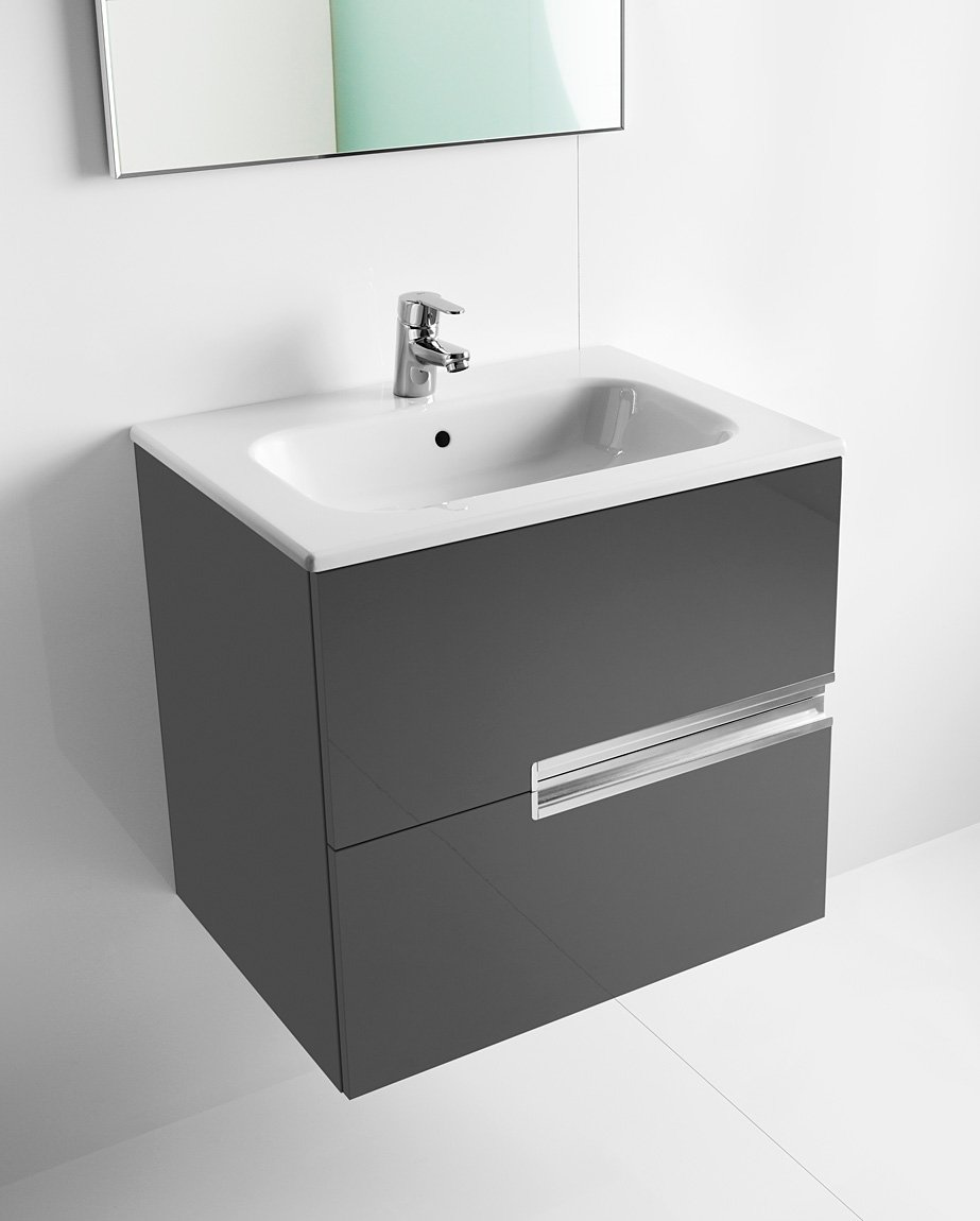 Roca victoria n unik basin and unit with 2 drawers 600mm for Roca victoria