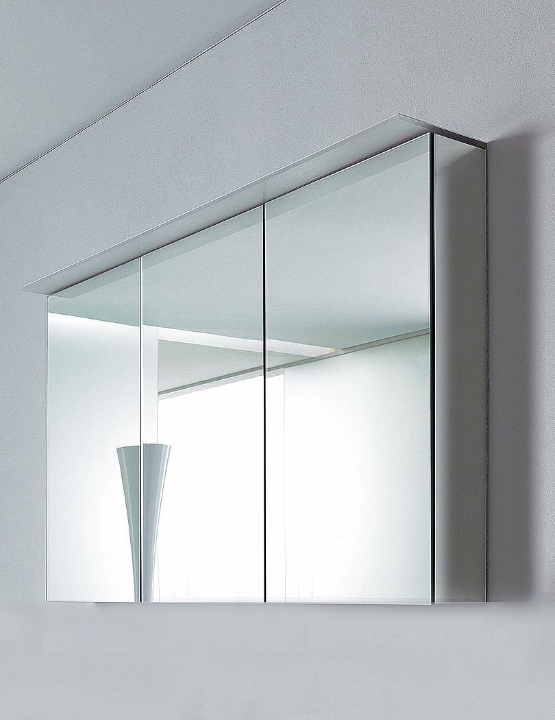 Duravit delos 1200mm mirror cabinet for Mirror bathroom cabinet
