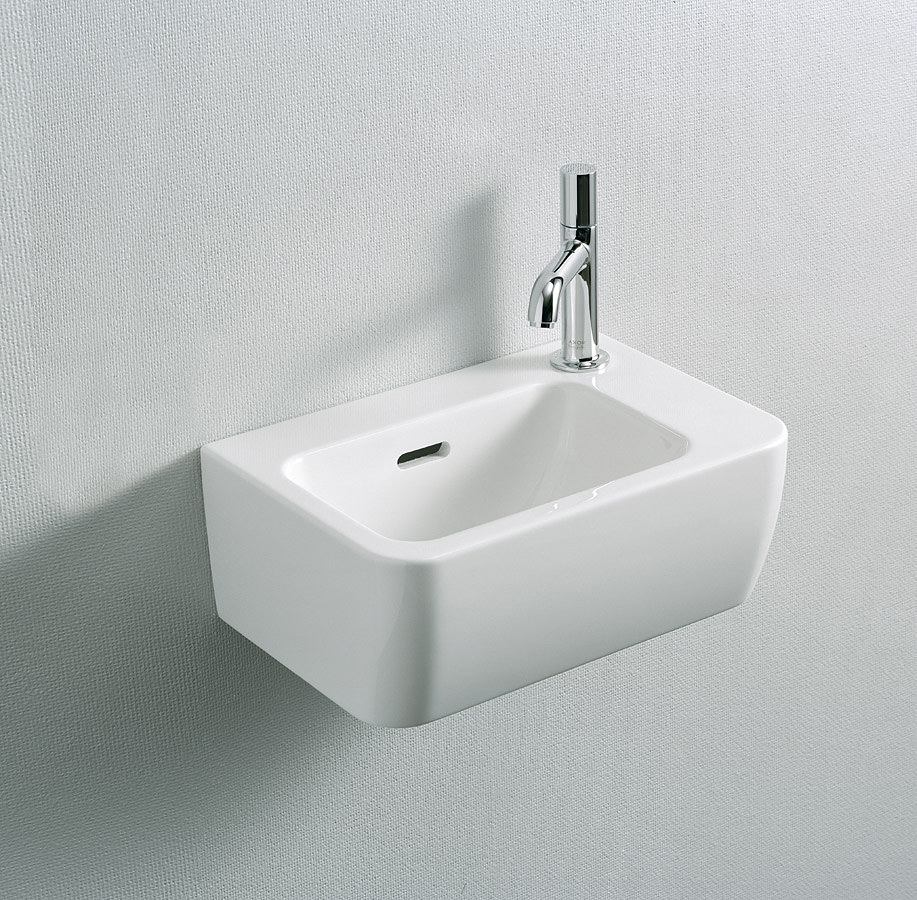 Laufen Pro A Small Ceramic Washbasin 360 X 250mm With 1