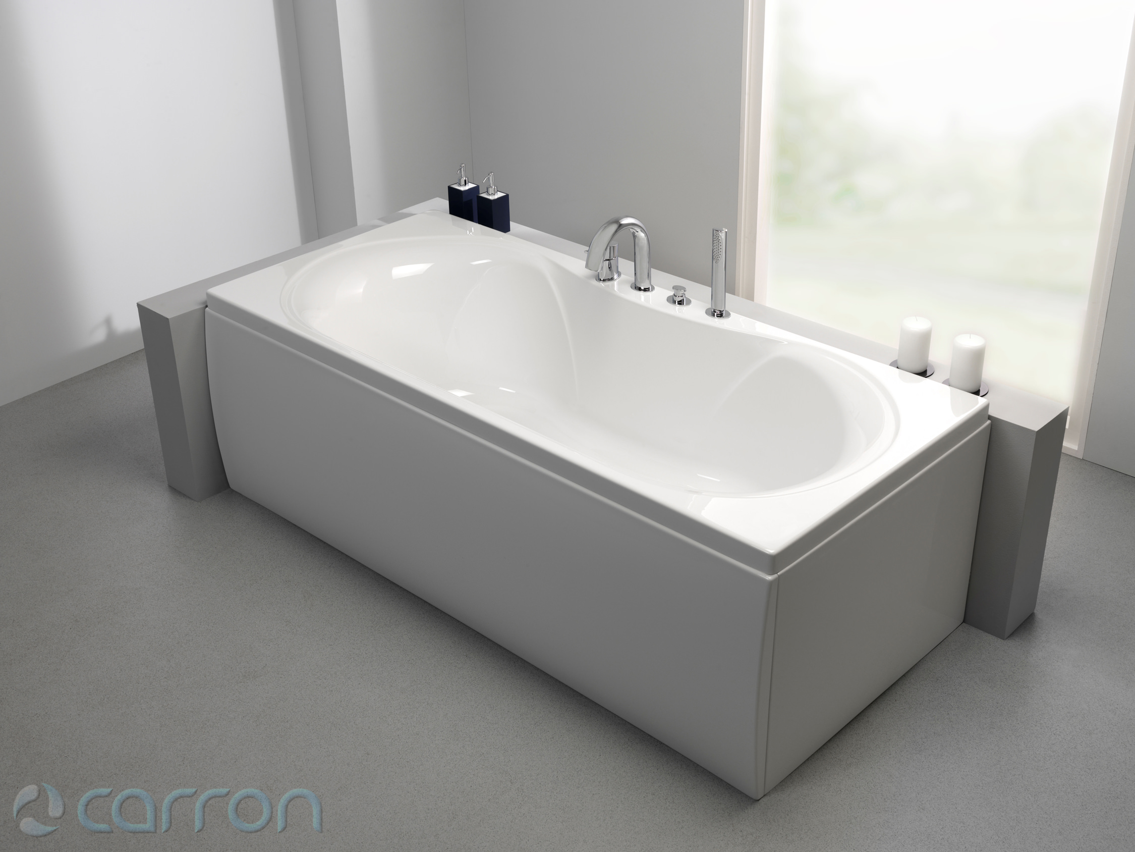 Carron Arc 5mm Acrylic Double Ended Bath 1700 X 750mm