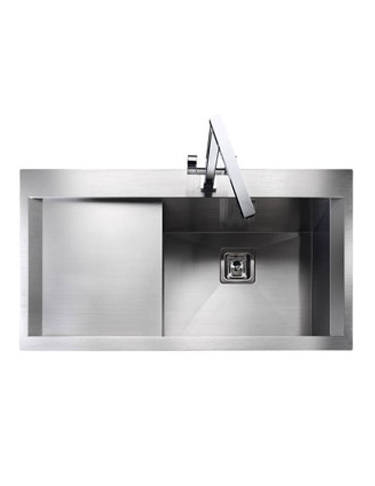 Kitchen Hand Sink : ... kitchen sink features rangemaster senator stainless steel kitchen sink
