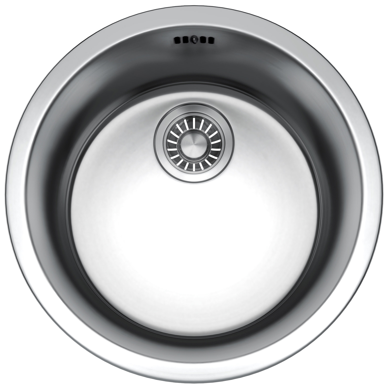 Franke Rotondo RBX 610 DP-Stainless Steel Round Inset Sink And Tap