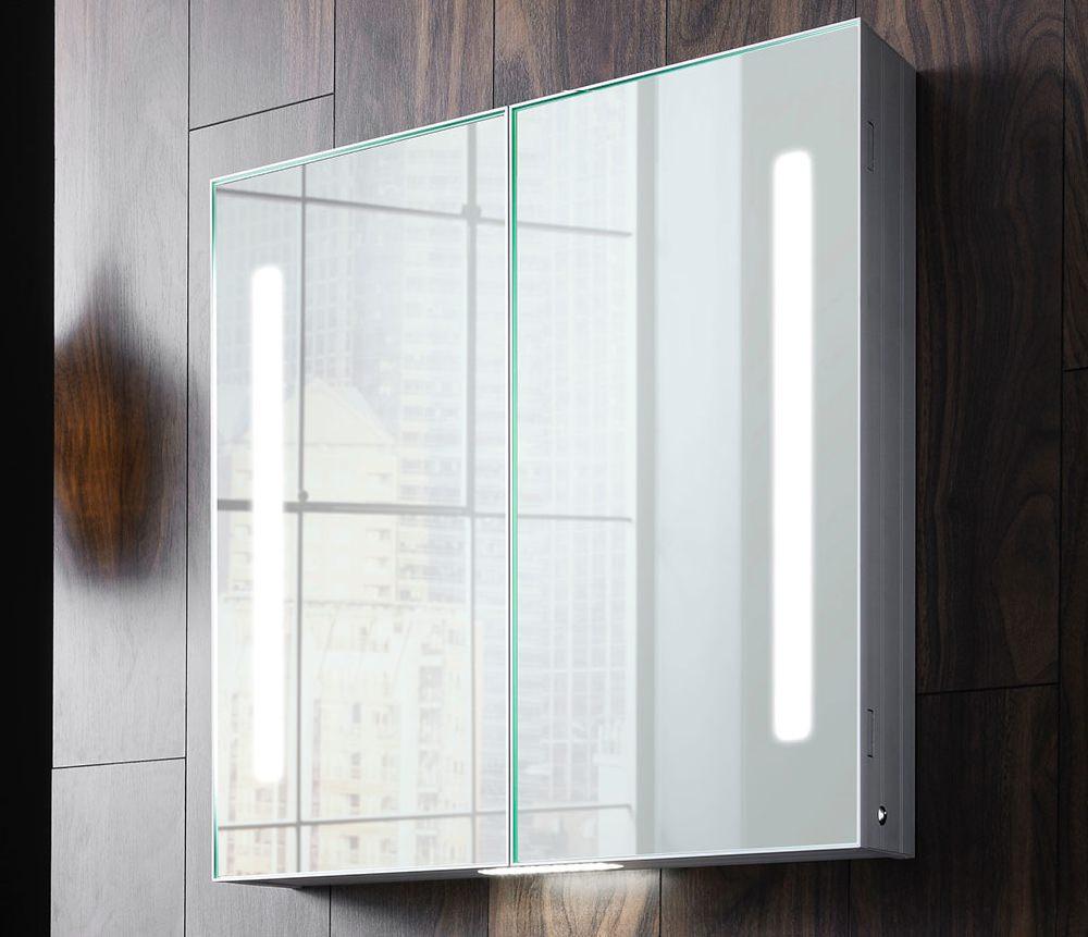 Bauhaus Allure Double Door 700 X 700mm Mirror Cabinet